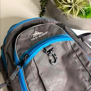 High Sierra 4 Section Hiking Camping Backpack